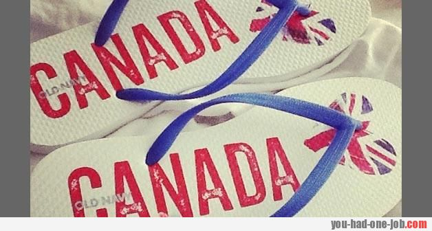 Canada flippers