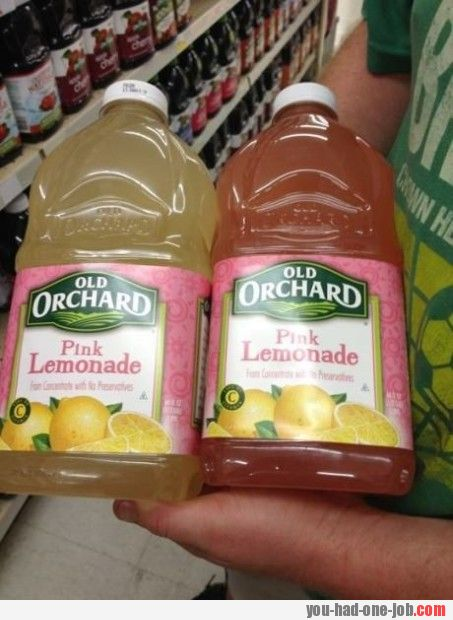I got a feeling it's not just lemon in that lemonade
