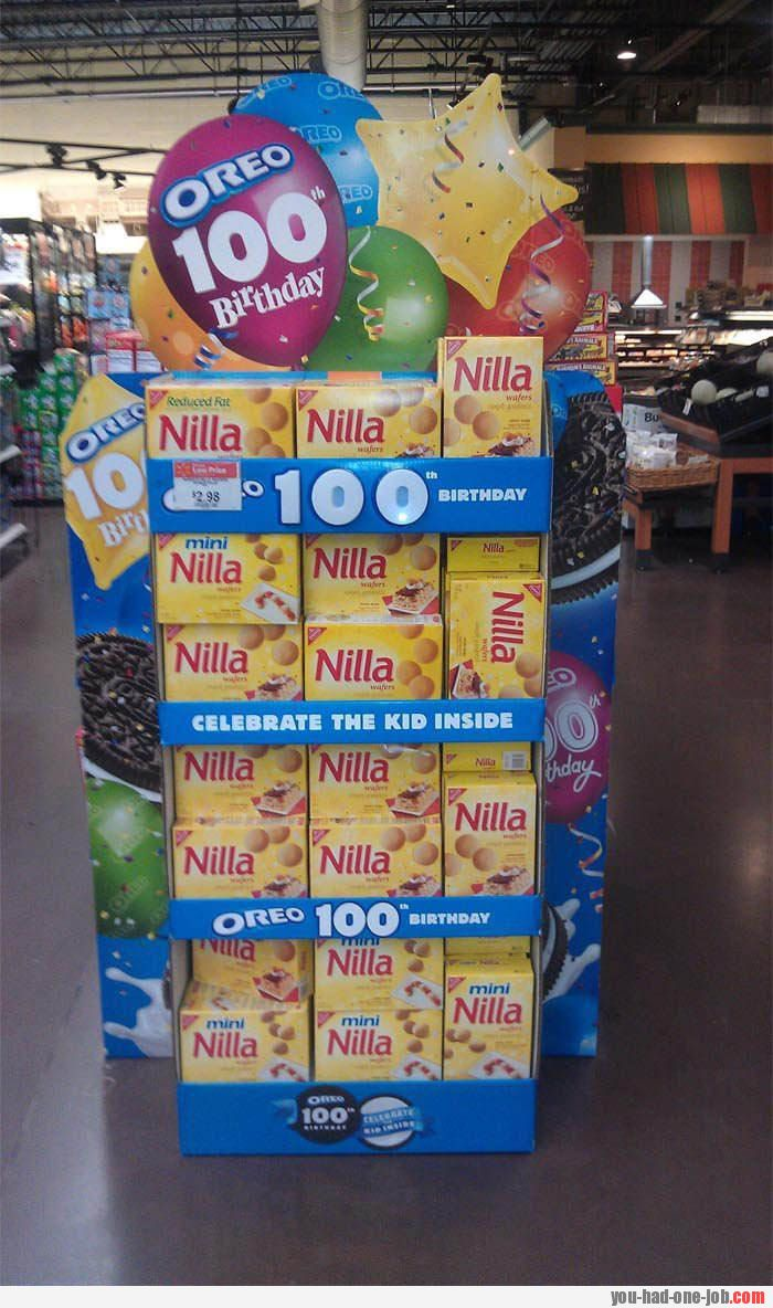 Oreo is turning 100 – let's buy a Nilla!