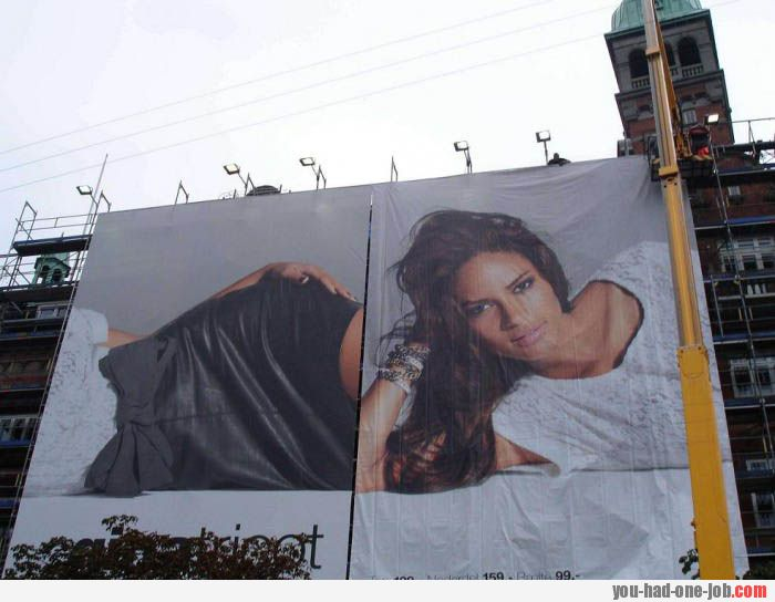 Models always looks so unnatural in the ads